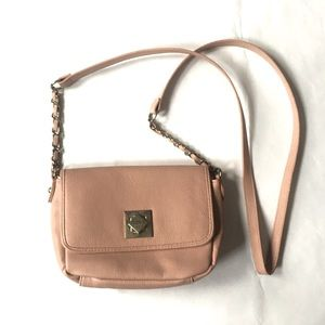 Nicole By Nicole Miller Light Pink Crossbody Bag